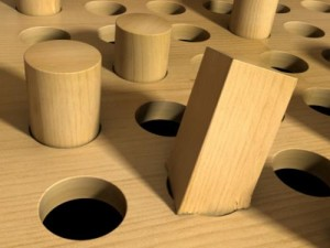 Square Peg in Round Hole
